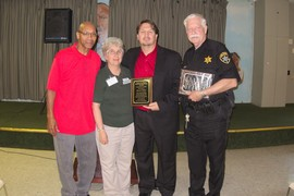 Award Recipients at Recovery Celebration