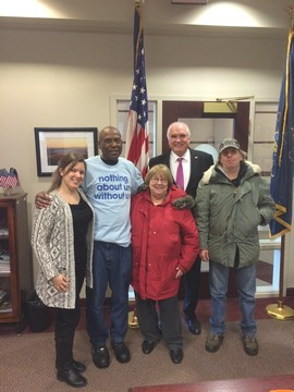 Consumers Meet with Congressman Mike Kelly regarding legislation
